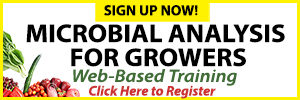 Learn more about soil microbes by joining our Microbial Analysis for Growers course.